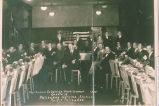 """First Annual Ex-Service Men's Dinner,"" in Pacific Palisades, guests of the Palisades..."