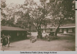 Lodge and dining hall at the Institute Camp in Temescal Canyon, Calif.