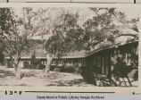 Dining hall at the Institute Camp, Temescal Canyon, Calif.