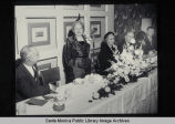 Retirement dinner for Miss Katherine Whelan, City Librarian, Santa Monica Public Library,...