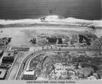 Remains of the Pacific Ocean Park Pier looking west from Santa Monica, May 20, 1975, 1:30 PM.
