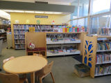 Children's area in the Fairview Branch Library (2101 Ocean Park Blvd.), May 2, 2014, Santa Monica,...